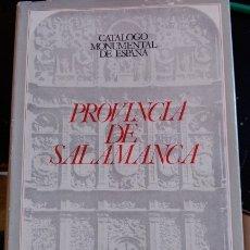 Libros de segunda mano: PROVINCIA DE SALAMANCA. - GOMEZ MORENO, MANUEL.. Lote 173715074