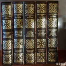 Libros de segunda mano: CATEDRALES DE ESPAÑA. TOMO V. BARCELONA, SEGOVIA, JAÉN, MÁLAGA, MURCIA Y EL PILAR DE ZARAGOZA.. Lote 174920727