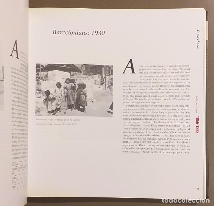 Libros de segunda mano: Barcelona contemporánea. 1856 – 1999. Español & English. 24 cm. CCCB. Ilustrado!! Muy buen estado - Foto 3 - 175506933