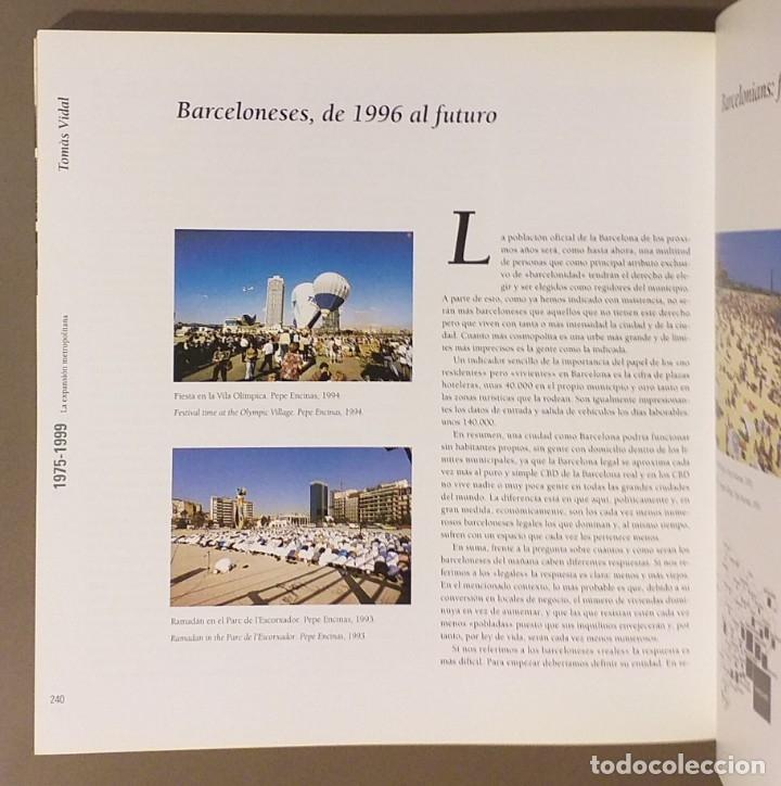Libros de segunda mano: Barcelona contemporánea. 1856 – 1999. Español & English. 24 cm. CCCB. Ilustrado!! Muy buen estado - Foto 6 - 175506933
