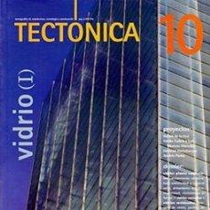 Libros de segunda mano: TECTÓNICA 10 VIDRIO (I) - REVISTA ARQUITECTURA. Lote 175661785