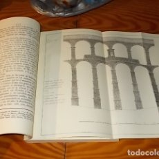 Libros de segunda mano: EL ACUEDUCTO Y OTRAS ANTIGÜEDADES DE SEGOVIA . ANDRÉS GÓMEZ DE SOMORROSTRO . 1987. . Lote 175672047