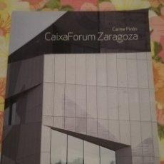 Libros de segunda mano: CAIXAFORUM ZARAGOZA (CARME PINÓS) TC CUADERNOS, GENERAL DE EDICIONES DE ARQUITECTURA. Lote 175681002