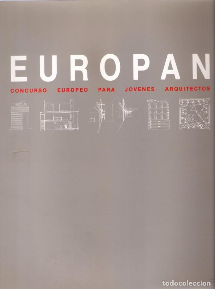 EUROPAN 1988 - CONCURSO EUROPEO PARA JOVENES ARQUITECTOS (Libros de Segunda Mano - Bellas artes, ocio y coleccionismo - Arquitectura)