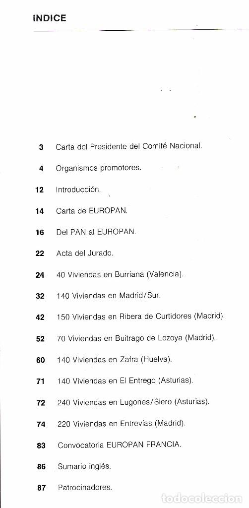 Libros de segunda mano: EUROPAN 1988 - CONCURSO EUROPEO PARA JOVENES ARQUITECTOS - Foto 2 - 175865853