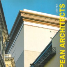 Libros de segunda mano: CONTEMPORARY EUROPEAN ARCHITECTS - TASCHEN. Lote 175867070