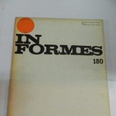 Libros de segunda mano: INFORMES DE LA CONSTRUCCIÓN 180 CSIC 1968 REVISTA ARQUITECTURA CONSTRUCCION. Lote 176081660