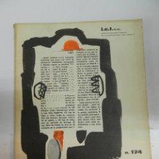Libros de segunda mano: INFORMES DE LA CONSTRUCCIÓN 174 CSIC REVISTA ARQUITECTURA CONSTRUCCIÓN 1965. Lote 176082607