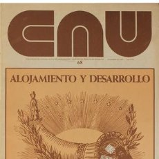 Libros de segunda mano: CAU 68 REVISTA CONSTRUCCIÓN, ARQUITECTURA, URBANISMO 1980. Lote 176125165
