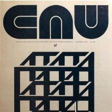 Libros de segunda mano: CAU 67 REVISTA CONSTRUCCIÓN, ARQUITECTURA, URBANISMO 1980. Lote 176125482