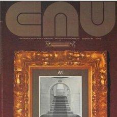 Libros de segunda mano: CAU 66 REVISTA CONSTRUCCIÓN, ARQUITECTURA, URBANISMO 1980. Lote 176155713
