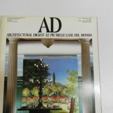 Libros de segunda mano: ARCHITECTURAL DIGEST N 33 - REVISTA DE ARQUITECTURA DISEÑO INTERIOR - EN ITALIANO INCLUYE SUPLEMENTO. Lote 176370177