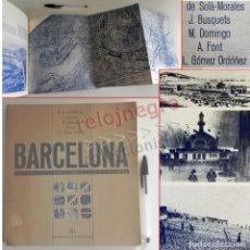 Libros de segunda mano: BARCELONA REMODELACIÓN CAPITALISTA O DESARROLLO URBANO EN EL SECTOR DE LA RIBERA OR. LIBRO URBANISMO. Lote 176555110
