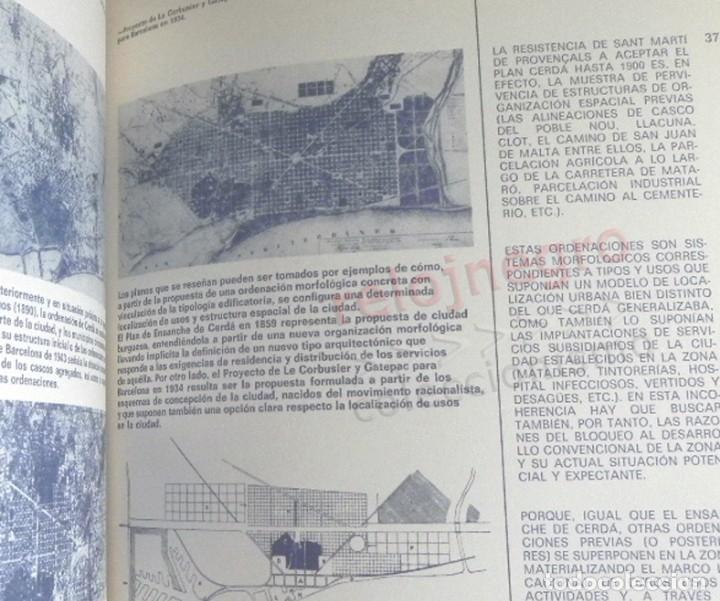 Libros de segunda mano: BARCELONA REMODELACIÓN CAPITALISTA O DESARROLLO URBANO EN EL SECTOR DE LA RIBERA OR. LIBRO URBANISMO - Foto 6 - 176555110