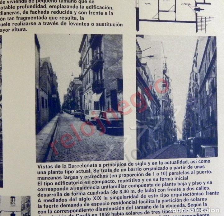 Libros de segunda mano: BARCELONA REMODELACIÓN CAPITALISTA O DESARROLLO URBANO EN EL SECTOR DE LA RIBERA OR. LIBRO URBANISMO - Foto 8 - 176555110