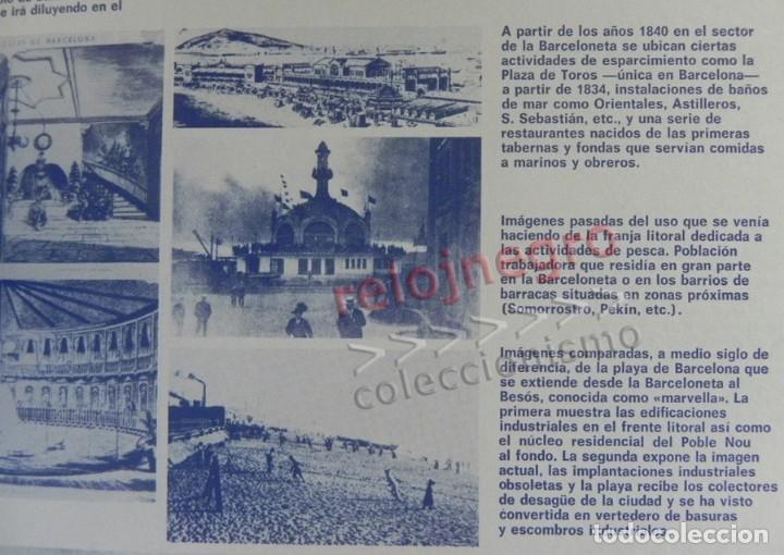 Libros de segunda mano: BARCELONA REMODELACIÓN CAPITALISTA O DESARROLLO URBANO EN EL SECTOR DE LA RIBERA OR. LIBRO URBANISMO - Foto 10 - 176555110