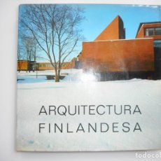 Libros de segunda mano: ARQUITECTURA FINLANDESA EN OTANIEMI ( EN CUATRO IDIOMAS INCLUIDO EL CASTELLANO ) Y96210. Lote 177786980