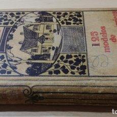 Libros de segunda mano: 125 MODELOS EDIFICIOS ECONOMICOS - I CASALI - 1915 GUSTAVO GILI EDITOR. Lote 177977739