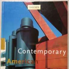Libros de segunda mano: CONTEMPORARY AMERICAN ARCHITECTS. PHILIP JODIDIO. TASCHEN. Lote 178098300