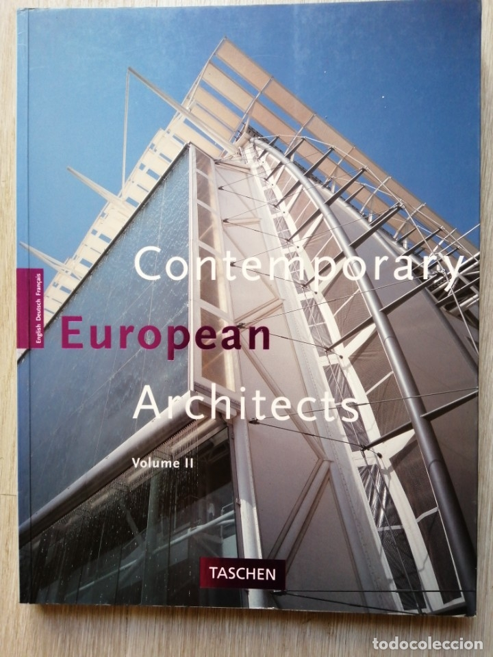 Libros de segunda mano: Contemporary European Architects. 2. Dirk MEYHOFER. Taschen - Foto 1 - 178099480