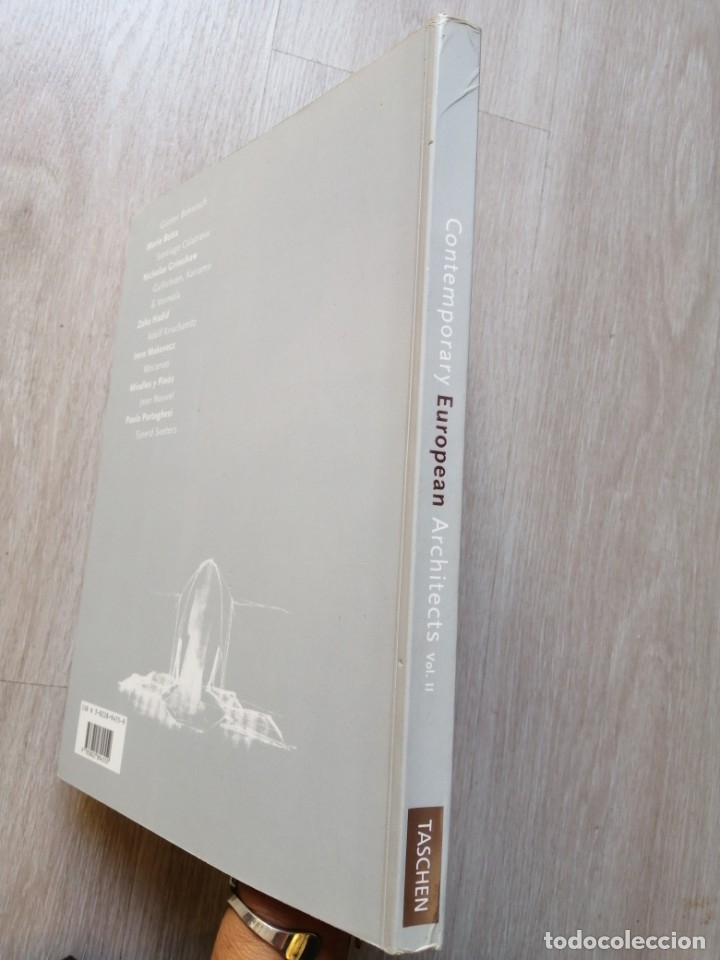 Libros de segunda mano: Contemporary European Architects. 2. Dirk MEYHOFER. Taschen - Foto 3 - 178099480
