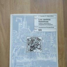 Livros em segunda mão: LOS CENTROS HISTÓRICOS. F. CIARDINI/ P. FALINI (EDS).. Lote 178106745