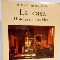 Libros de segunda mano: LA CASA: HISTORIA DE UNA IDEA - NEREA - 8486763134. Lote 178258477