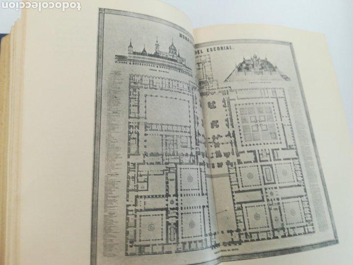 Libros de segunda mano: Fundación del Monasterio de el Escorial por Felipe II FR José de Sigüenza, 1927.Tapa dura tela edito - Foto 3 - 179146576