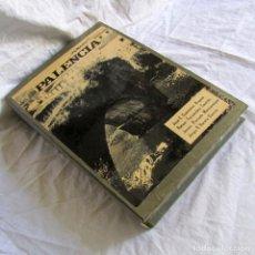 Libros de segunda mano: ESTUDIO INÉDITO, PUENTES DE PALENCIA, DESCRIPCIONES, MAPAS, PLANOS, 94 FOTOS + 76 DIAPOSITIVAS. Lote 179520183