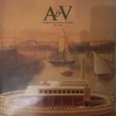 Libros de segunda mano: REVISTA AV MONOGRAFÍAS DE ARQUITECTURA Y VIVIENDA - Nº 20 -. Lote 180043777