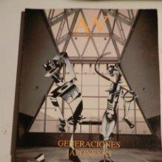 Libros de segunda mano: AV MONOGRAFÍAS 28 GENERACIONES JAPONESAS - REVISTA ARQUITECTURA. Lote 295623433