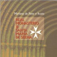 Libros de segunda mano: REAL MONASTERIO DE SANTA MARÍA DE SIJENA - MARIANO DE PANO Y RUATA - CAJA INMACULADA 2004. Lote 180393260