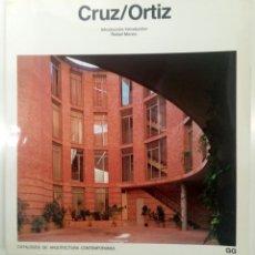 Libros de segunda mano: CRUZ / ORTIZ. Lote 181937427