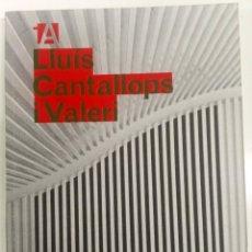 Libros de segunda mano: LLUIS CANTALLOPS I VALERI COAC. Lote 181943285