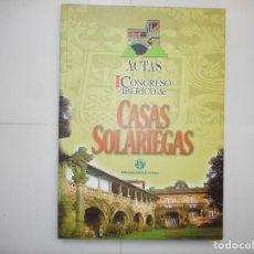 Livros em segunda mão: I CONGRESO IBÉRICO DE CASAS SOLARIEGAS Y96996. Lote 183086520