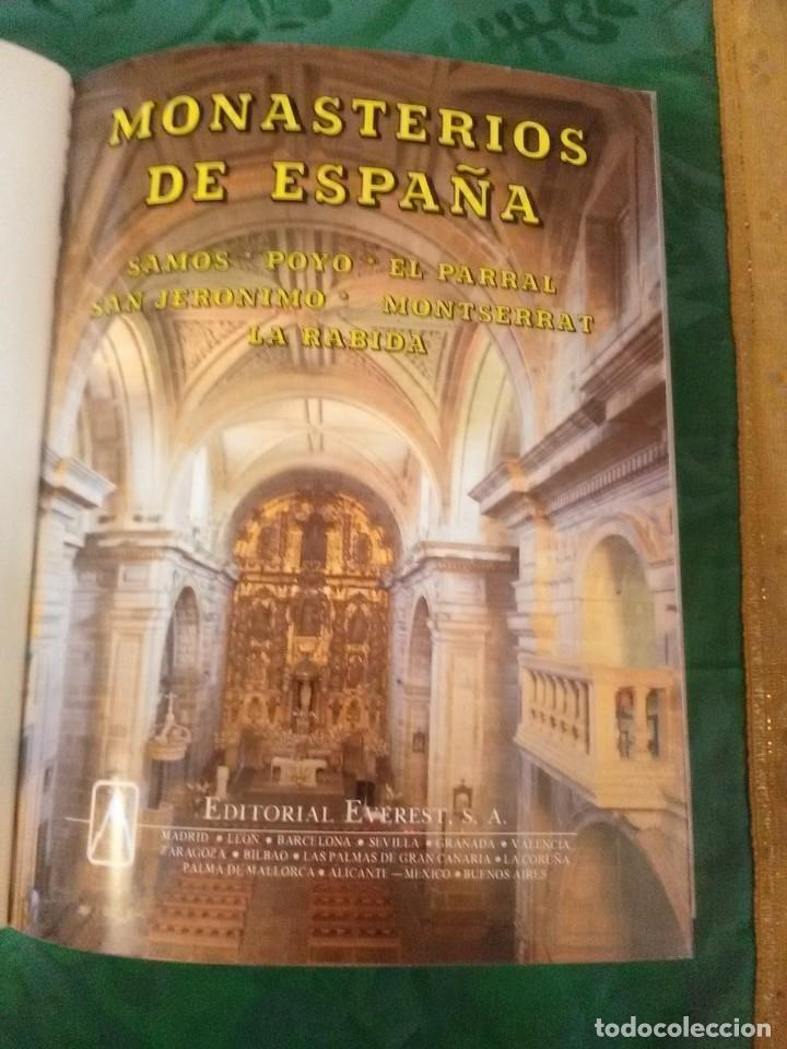 Libros de segunda mano: Monasterios de España. (Vol. III). Ed. Everest. 1990. 2 Ed. - Foto 2 - 183091666