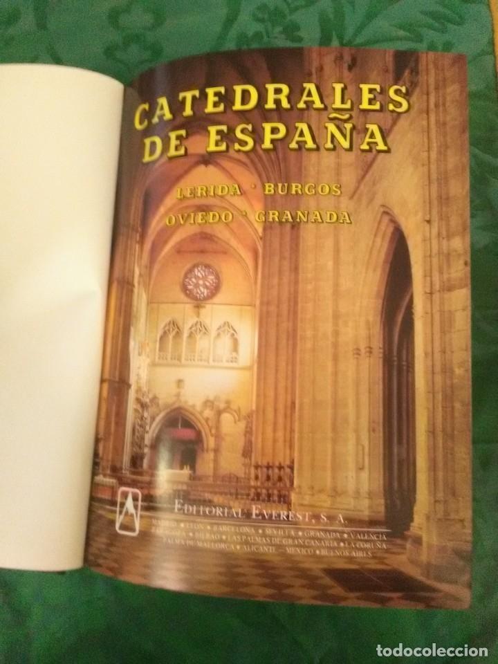 Libros de segunda mano: Catedrales de España. (Vol. II). Ed. Everest. 1988. 2 Ed. - Foto 2 - 183092595