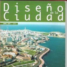 Libros de segunda mano: REVISTA DISEÑO DE LA CIUDAD Nº7, ABRIL 1997. Lote 183445366