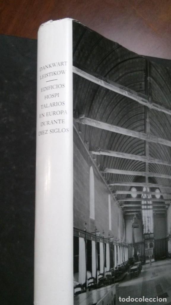 EDIFICIOS HOSPITALARIOS EN EUROPA DURANTE DIEZ SIGLOS-HISTORIA DE LA ARQUITECTURA HOSPITALARIA-1967 (Libros de Segunda Mano - Bellas artes, ocio y coleccionismo - Arquitectura)