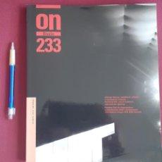 Libros de segunda mano: ON DISEÑO. NUM. 233. Lote 183617742