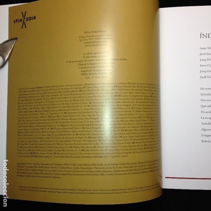 Libros de segunda mano: EL CATELL DE SOLIVELLA ENTRE EL GÒTIC I EL RENAIXEMENT A LA CATALUNYA NOVA - 1ª EDICIÓ 2014 - - Foto 3 - 183678732
