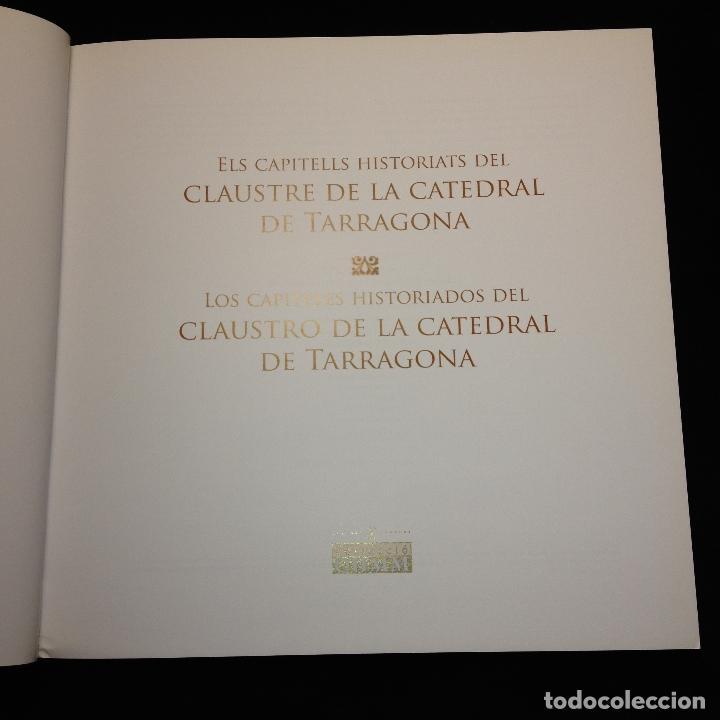 Libros de segunda mano: ELS CAPITELLS HISTORIATS DEL CLAUSTRE DE LA CATREDRAL DE TARRAGONA - CATALÁN Y CASTELLANO - 1ª ED. - Foto 2 - 183679426