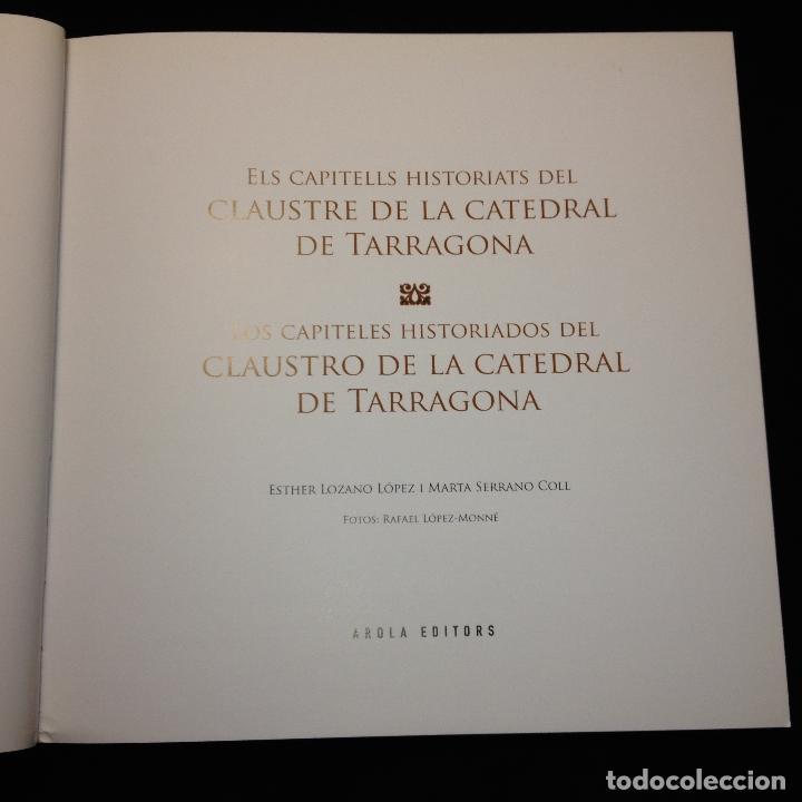 Libros de segunda mano: ELS CAPITELLS HISTORIATS DEL CLAUSTRE DE LA CATREDRAL DE TARRAGONA - CATALÁN Y CASTELLANO - 1ª ED. - Foto 4 - 183679426