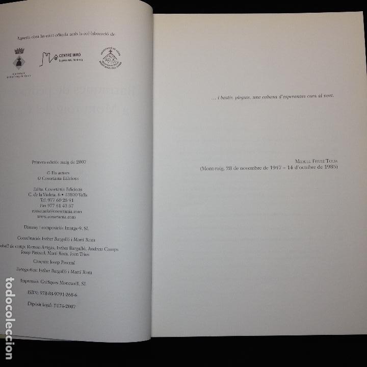 Libros de segunda mano: BARRAQUES DE PEDRA SECA A MONT-ROIG DEL CAMP - 1ªEDICCIÓ 2007 - COSSETÀNIA EDICIONS - Foto 3 - 183708612