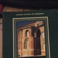 Libros de segunda mano: RUTAS DEL ROMÁNICO EN LA PROVINCIA DE SALAMANCA (SALAMANCA 1989). Lote 183846252