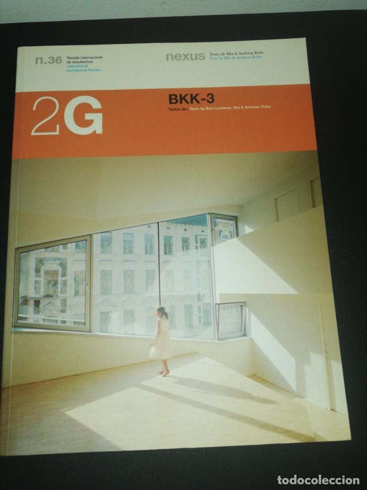 2G, REVISTA INTERNACIONAL DE ARQUITECTURA, N. 36 BKK-3, (Libros de Segunda Mano - Bellas artes, ocio y coleccionismo - Arquitectura)