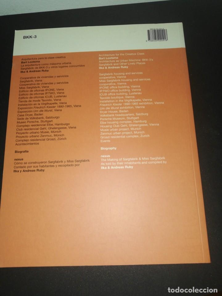 Libros de segunda mano: 2G, Revista internacional de arquitectura, n. 36 bkk-3, - Foto 4 - 183869143