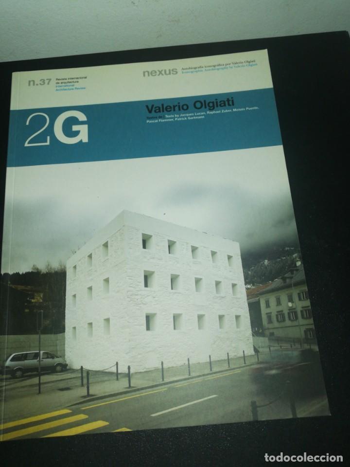 2G, REVISTA INTERNACIONAL DE ARQUITECTURA, N. 37, VALERIO OLGIATI (Libros de Segunda Mano - Bellas artes, ocio y coleccionismo - Arquitectura)