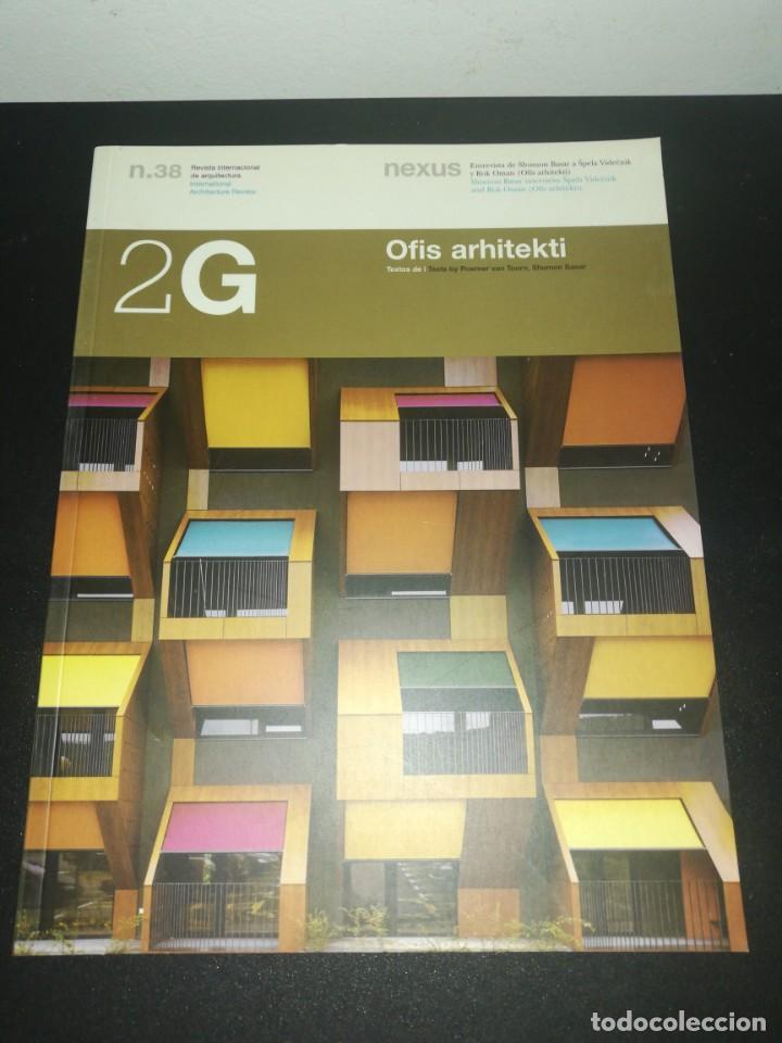 2G, REVISTA INTERNACIONAL DE ARQUITECTURA, N. 38, OFIS ARHITEKTI (Libros de Segunda Mano - Bellas artes, ocio y coleccionismo - Arquitectura)