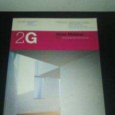Libros de segunda mano: 2G, REVISTA INTERNACIONAL DE ARQUITECTURA, N. 28, AIRES MATEUS . Lote 183869200